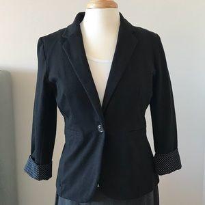 Apt 9 Black Jersey Blazer